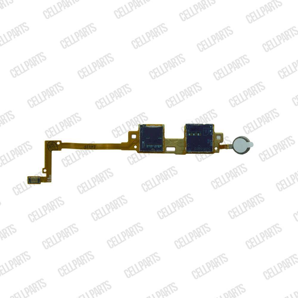 Cabo Flex Samsung Note 10.1 P600 P601 P605 Leitor Sim Card