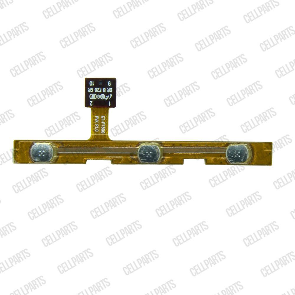 Cabo Flex Samsung P7500 P7510 Botão Power e Volume