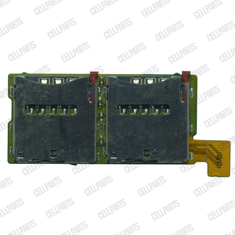 Cabo Flex Sony Xperia T2 D5306 D5322 Leitor Sim Card