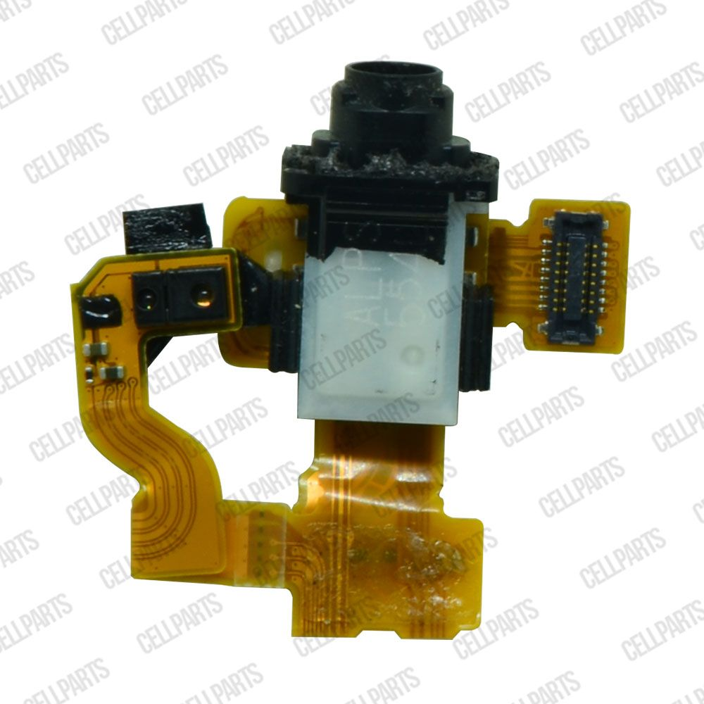 Cabo Flex Sony Xperia Z3 Compact Mini D5803 D5833 Conector Fone P2 e Sensor Proximidade