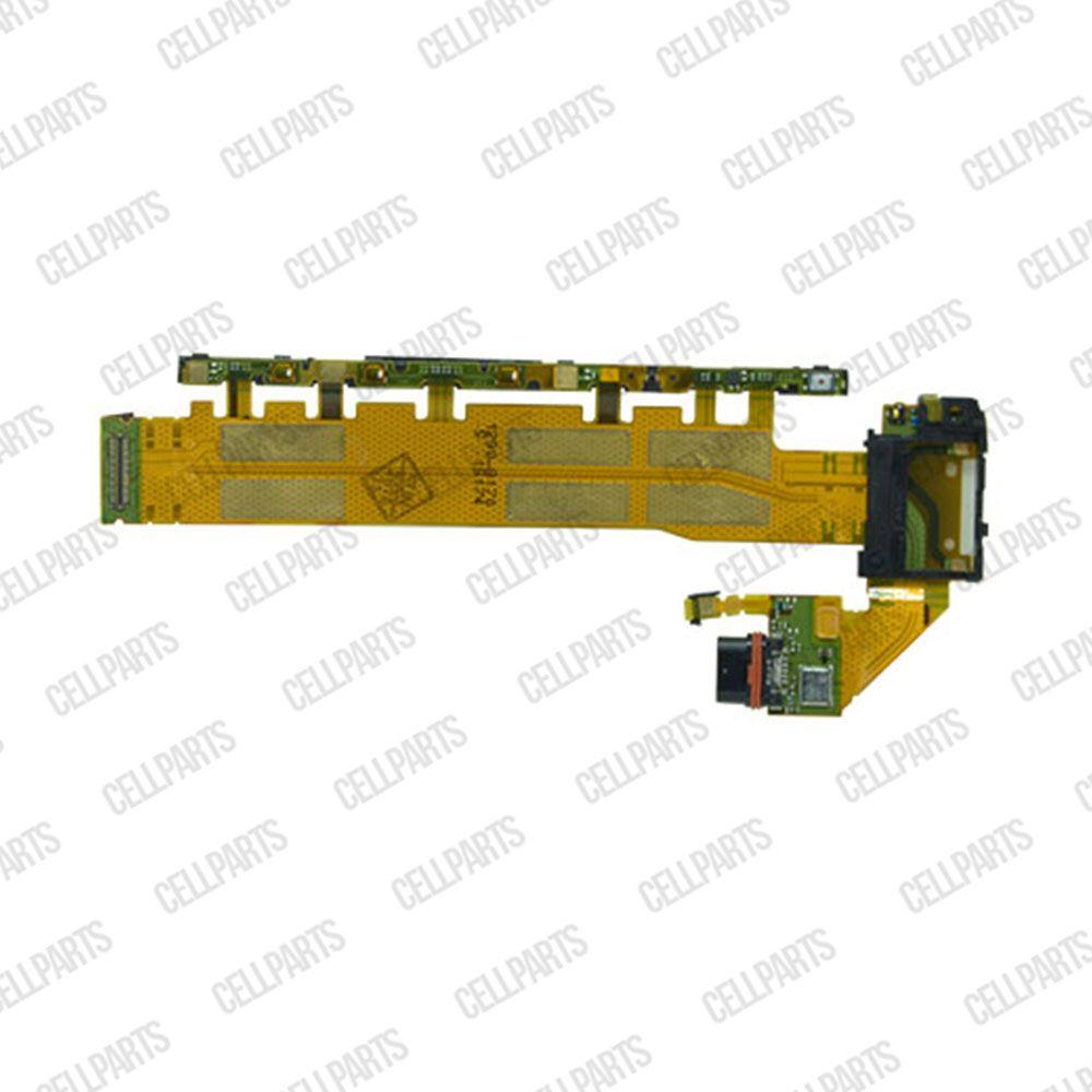Cabo Flex Sony Xperia Z4 Z3+ E6553 Conector Carga Power e Volume