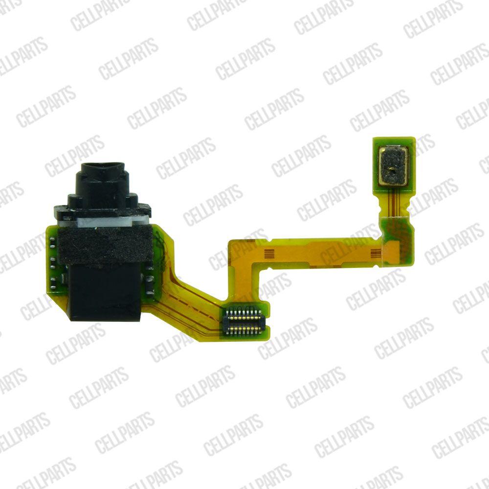 Cabo Flex Sony Xperia Z5 E6603 E6633 E6653 E6683 Conector P2 e Microfone