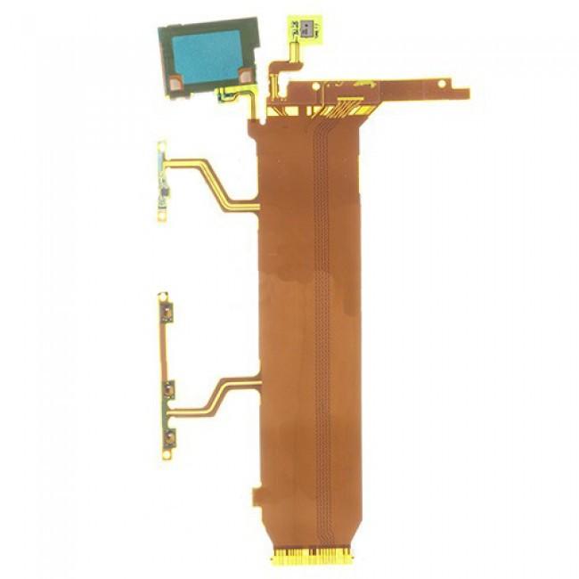 Cabo Flex Sony Xperia Z Ultra C6802 C6833 C6806 Power / Volume / Microfone