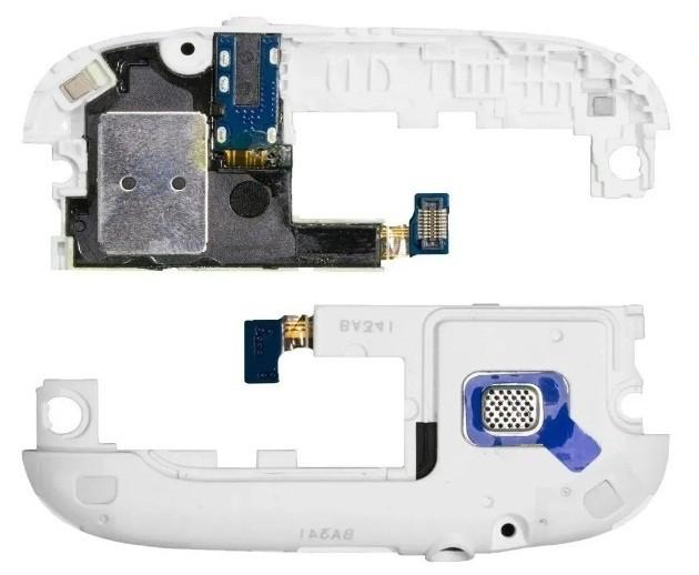 Campainha Alto Falante Samsung i9300 S3 Branco com Flex