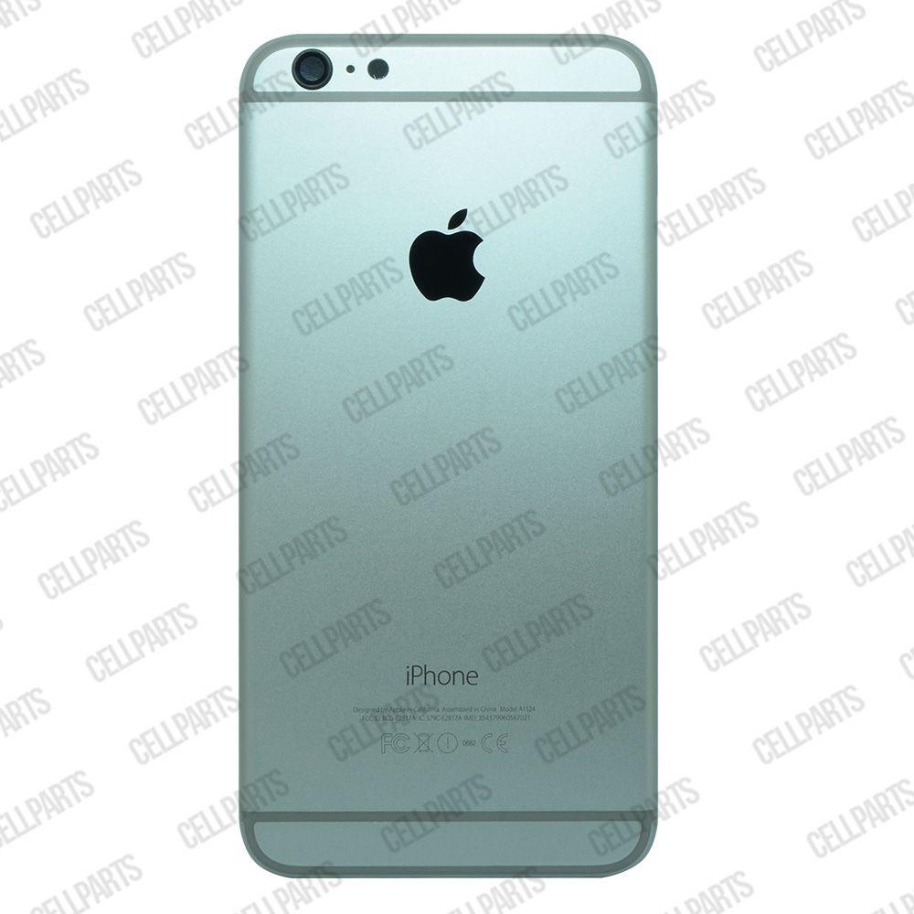 Carcaça iPhone 6 Plus Grafite c/ Botões e Bandeja de Sim Card