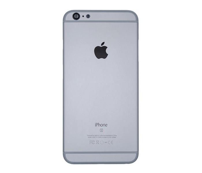 Carcaça Iphone 6s Plus A1634 A1687 A1699 Cinza c/ Flex