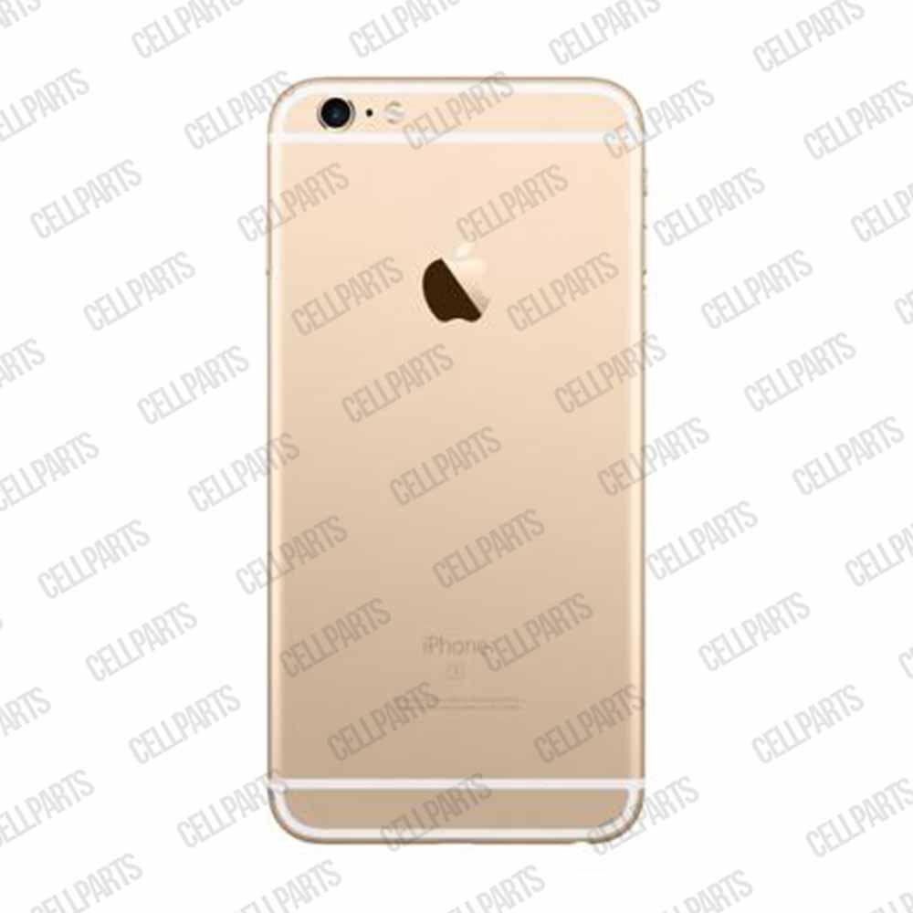 Carcaça Iphone 6s Plus Dourada - Completa com flex