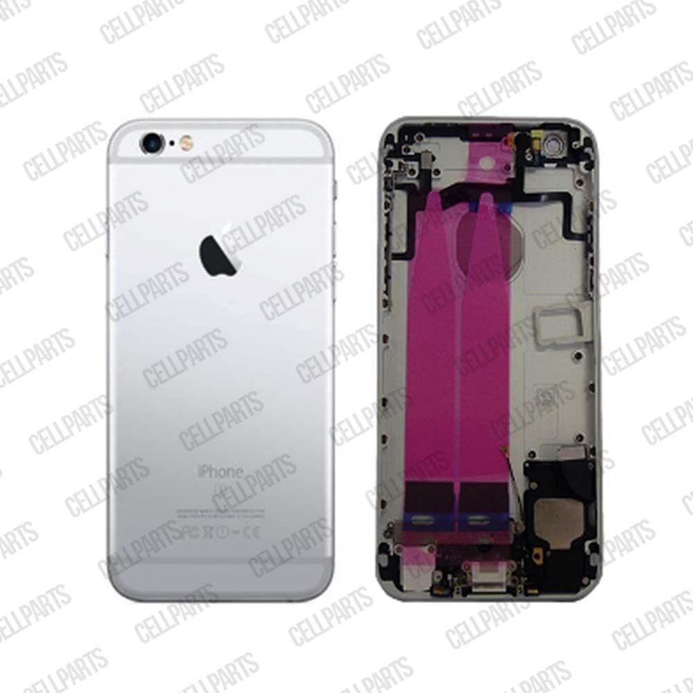 Carcaça iPhone 6S Prata - Completa com os Flex