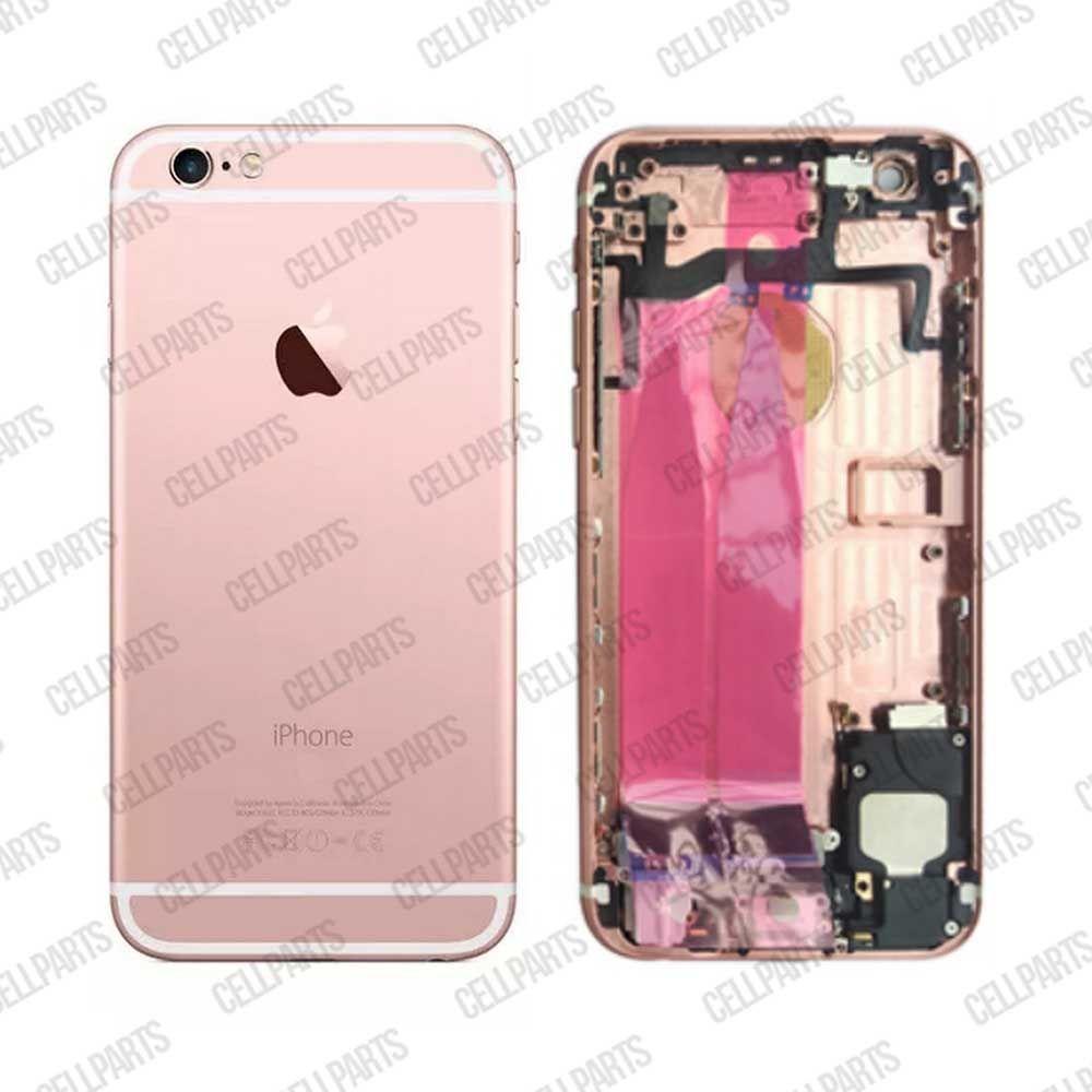 Carcaça iPhone 6S Rose - Completa com os Flex