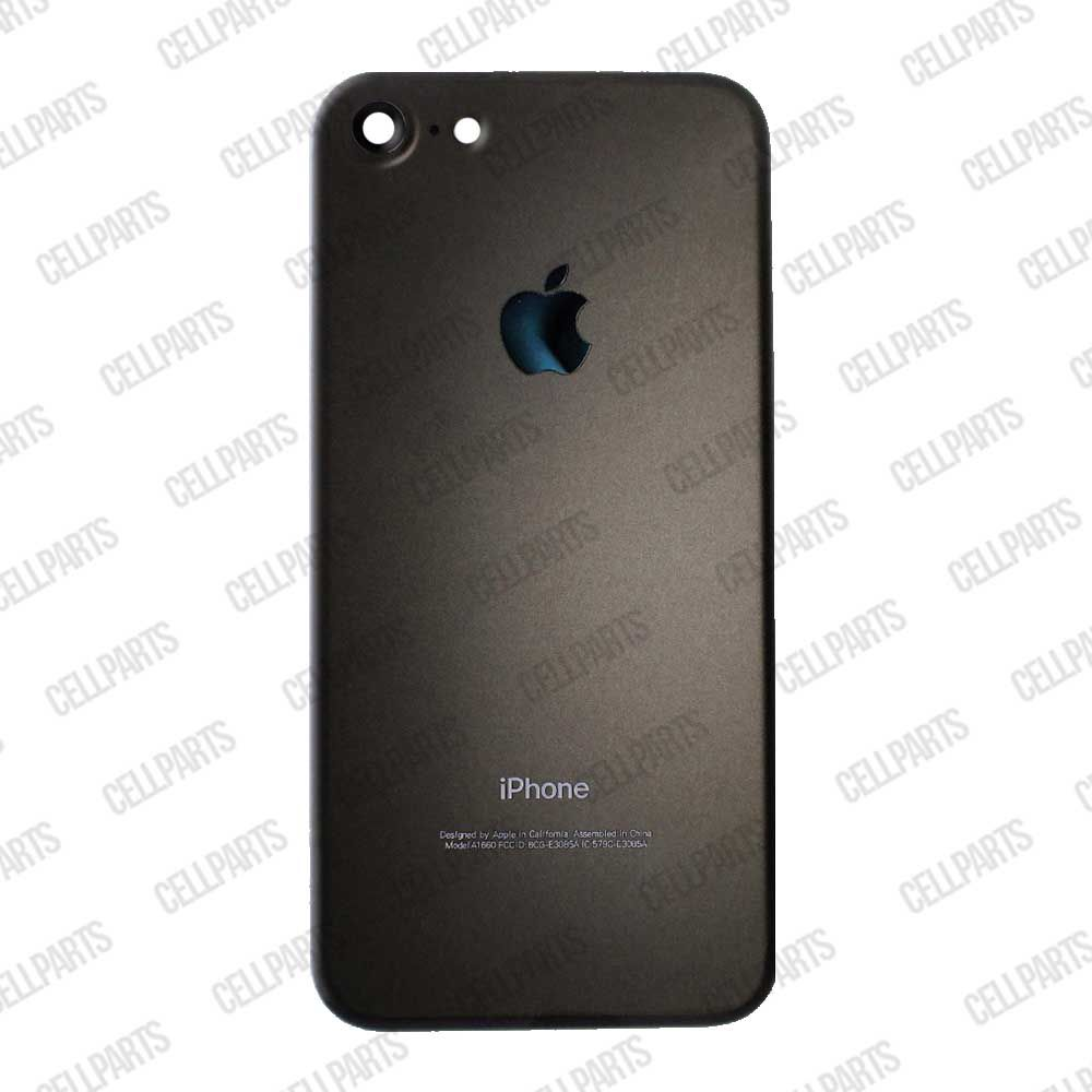 Carcaça Iphone 7g Preta - Completa com flex