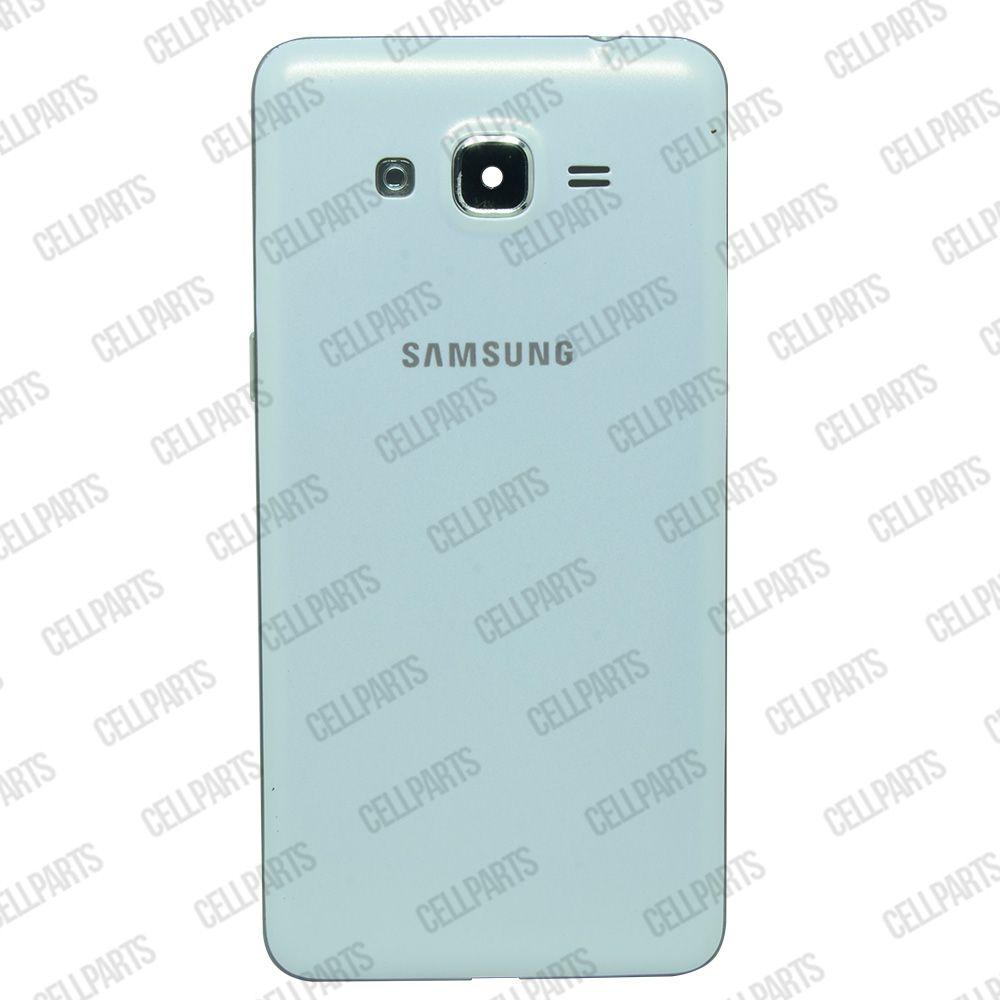 Carcaça Samsung G530 BT c/ Botões Laterais Branca
