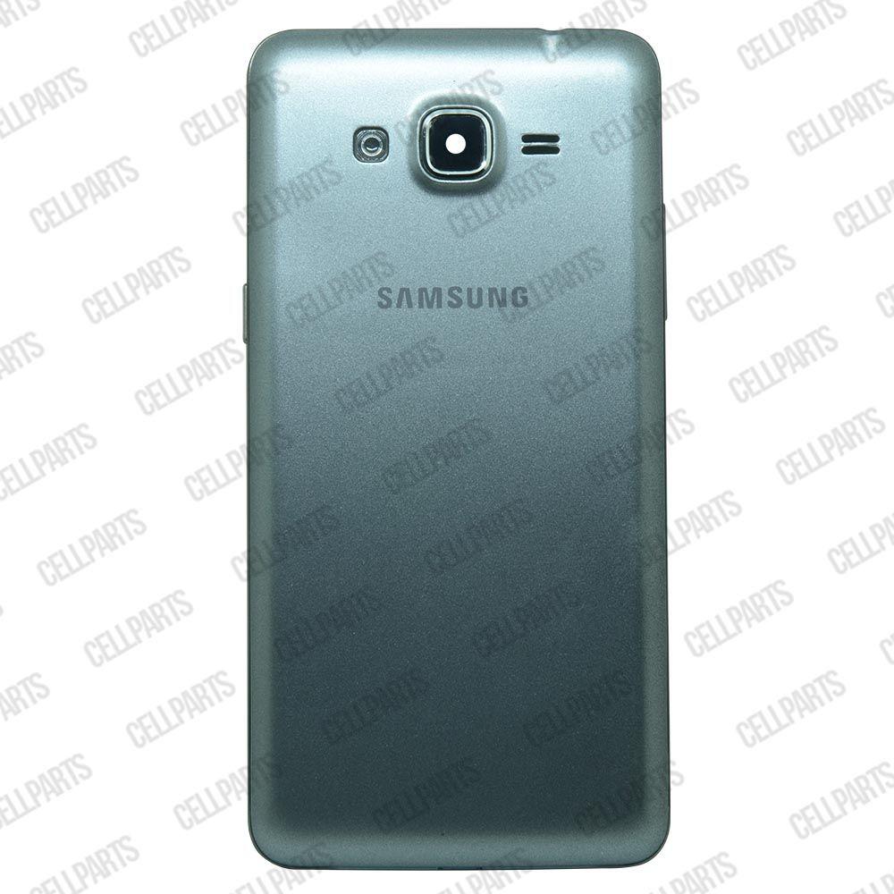 Carcaça Samsung G530 BT c/ Botões Laterais Grafite
