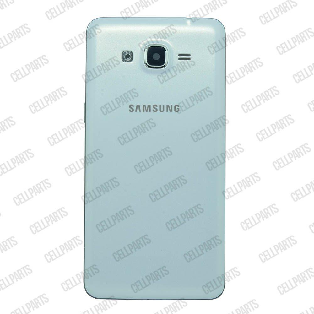 Carcaça Samsung G530 H c/ Botões Laterais Branca