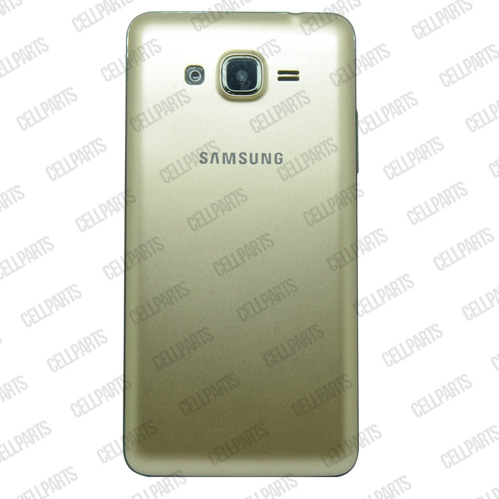 Carcaça Samsung G530 H c/ Botões Laterais Dourada