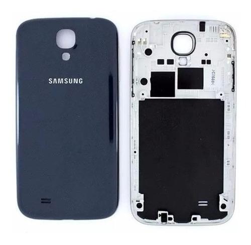 Carcaça Samsung i9500 S4 Azul c/ Botões Laterais