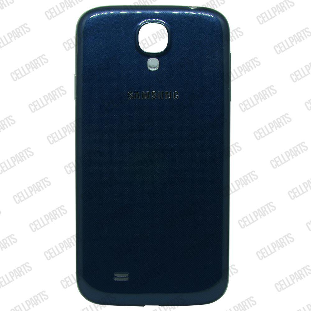 Carcaça Samsung i9500 S4 c/ Botões Laterais Azul