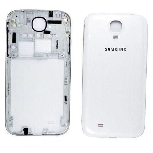 Carcaça Samsung i9500 S4 c/ Botões Laterais Branca