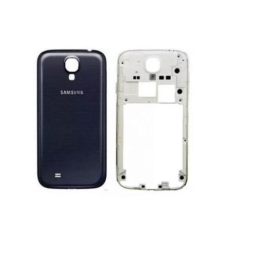 Carcaça Samsung i9500 S4 c/ Botões Laterais Preta