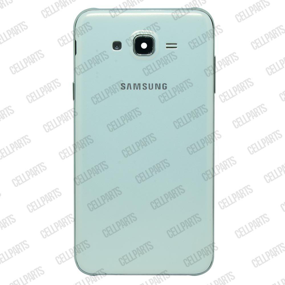Carcaça Samsung J700 c/ Botões Laterais Branca