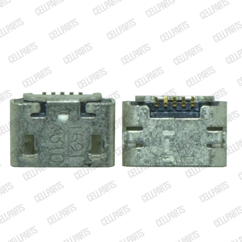 Conector Carga Tablets e Celulares V8 5 Terminais