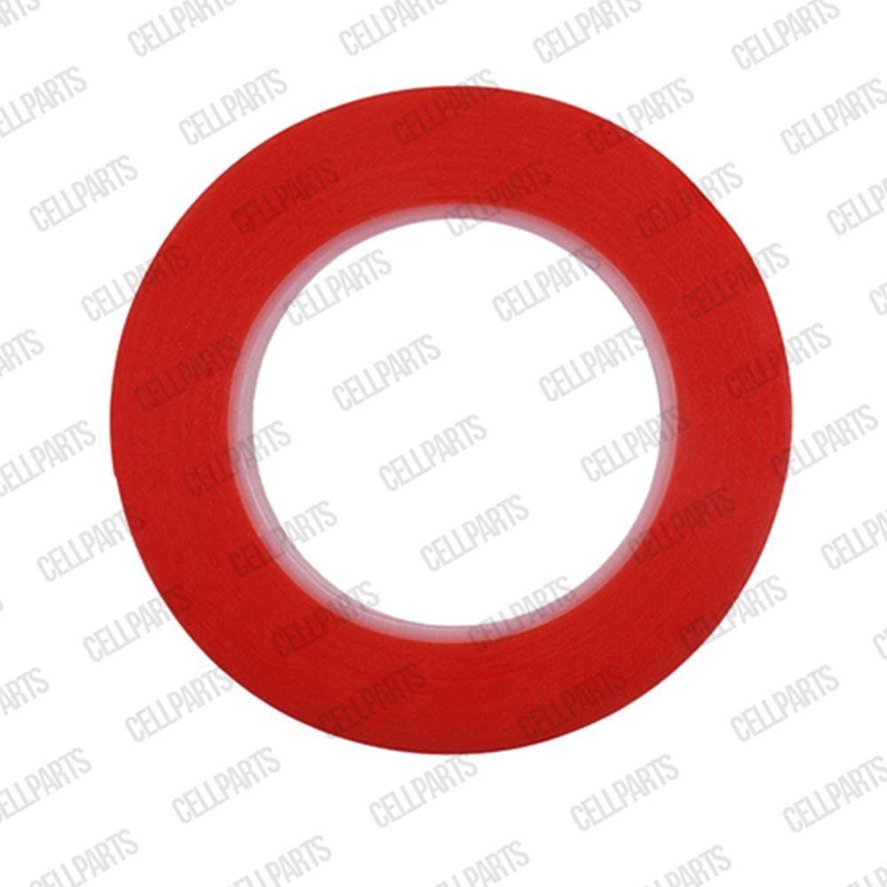 Fita Dupla Face 5mm X 50mt Vermelha