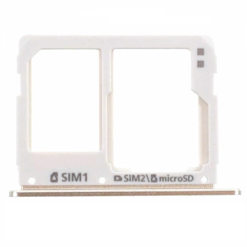 Gaveta Sim Card Samsung A3 A310 A5 A510 A7 A710 2016 Dourado