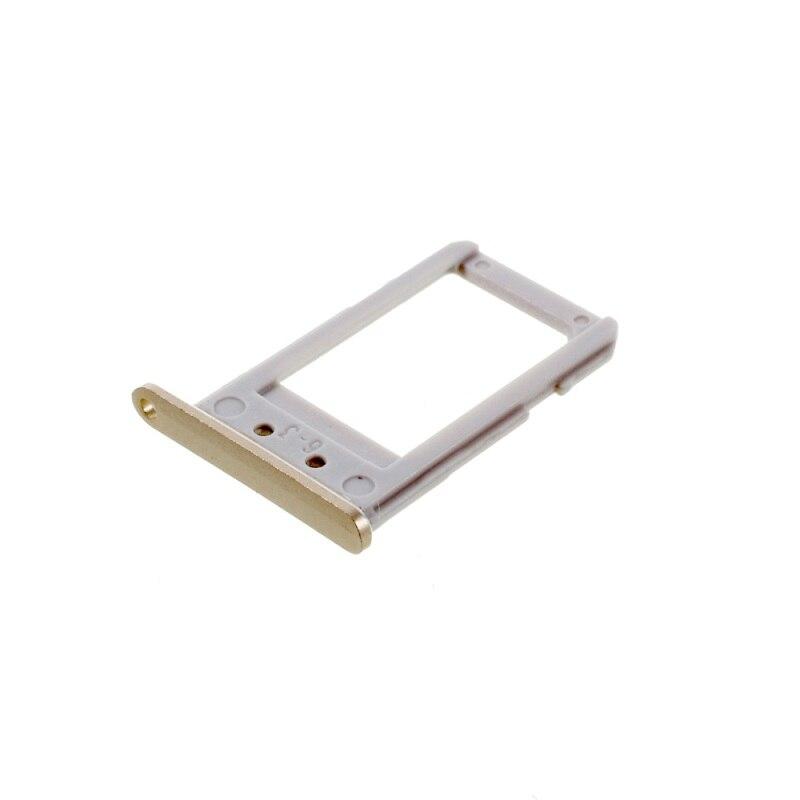 Gaveta Sim Card Samsung G925 S6 Edge Dourada