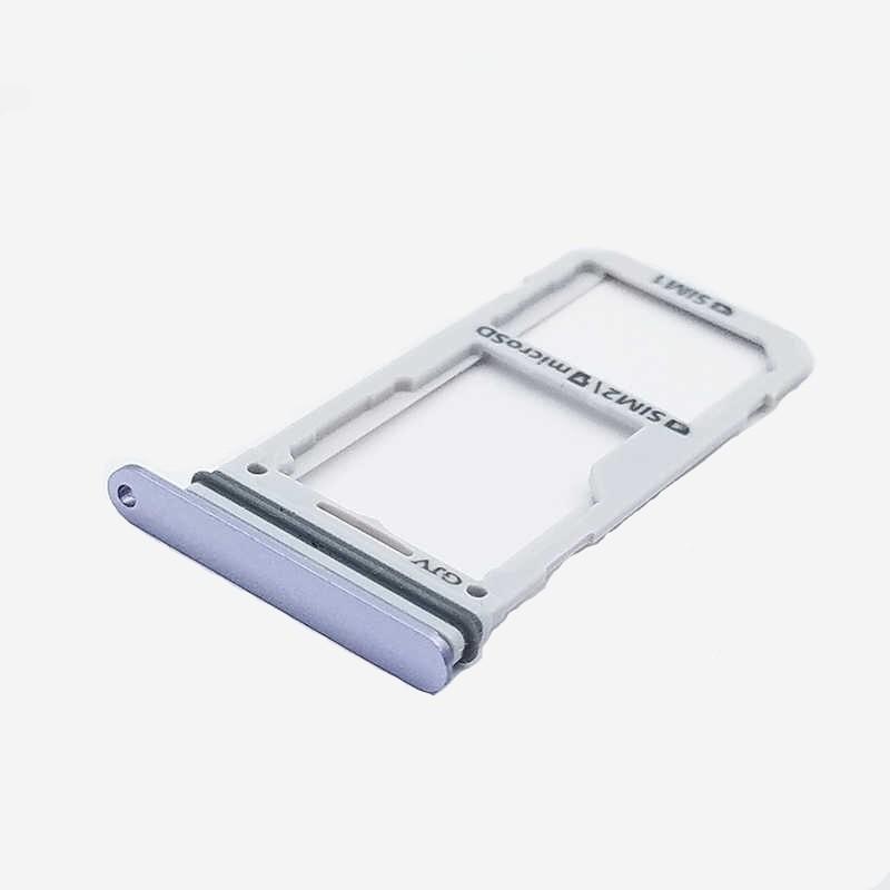 Gaveta Sim Card Samsung G955 S8 Plus Prata