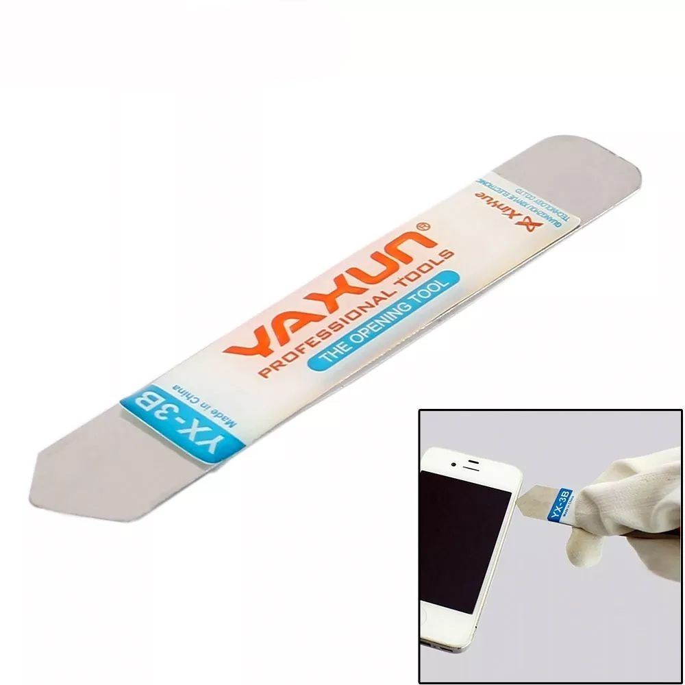 Lamina Espatula Aço Inox Yaxun Yx-3b P/ Celular Tablet