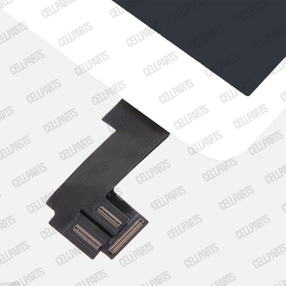 Tela Frontal iPad Air 2 A1566 A1567 Branco