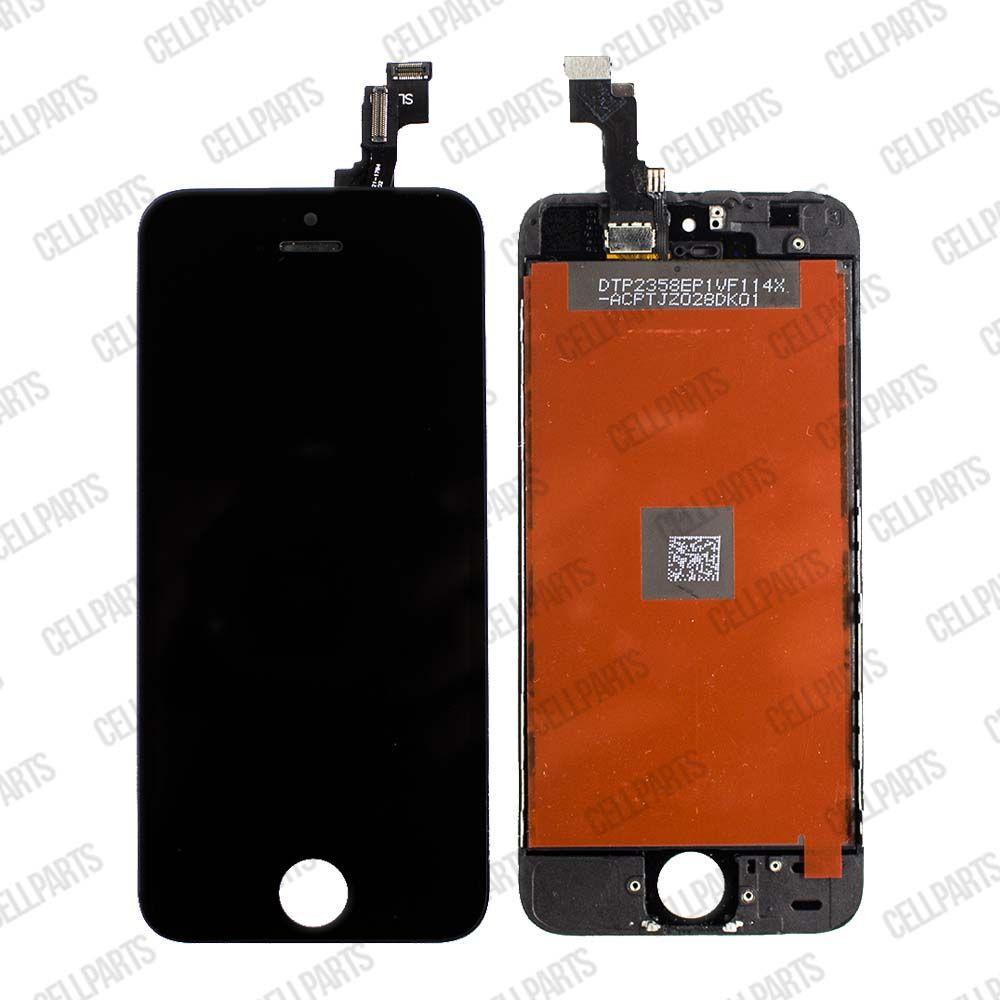 LCD iPhone 5S A1453 A1457 A1518 A1528 A1530 A1533 Preto