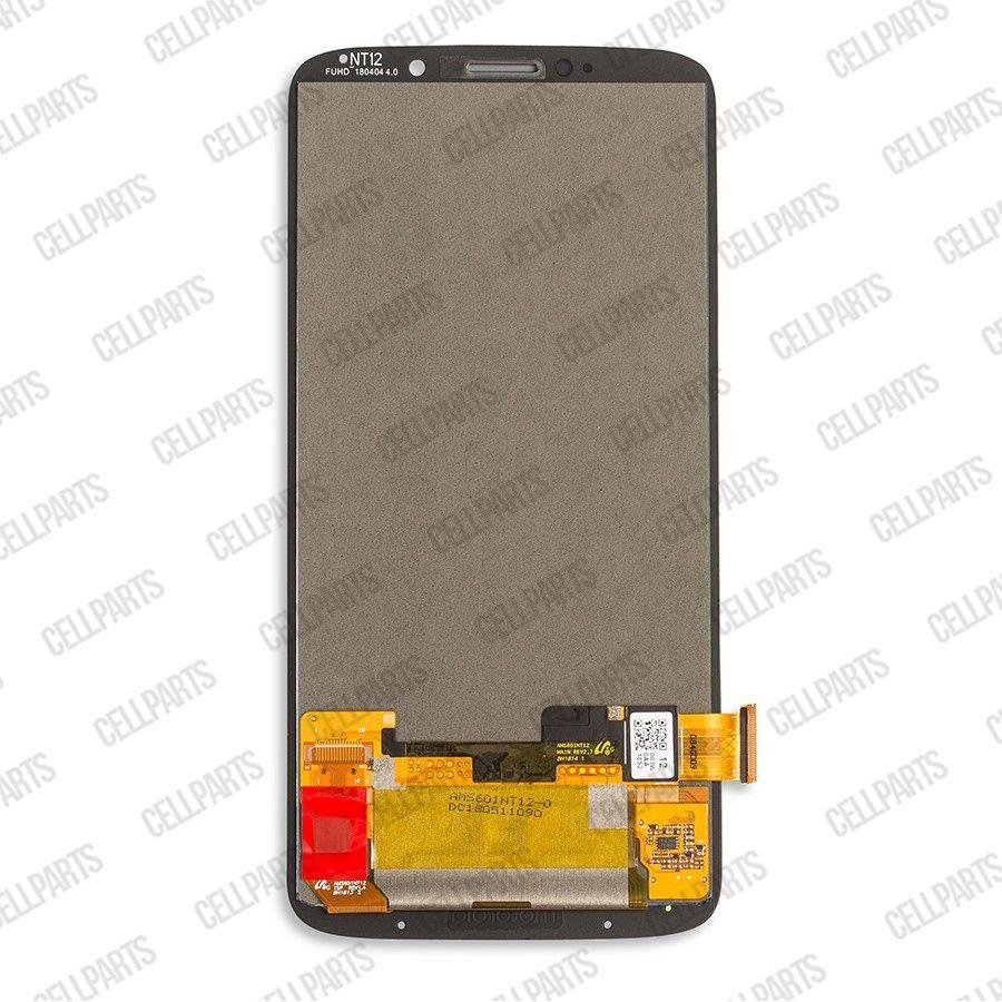 Tela Frontal Motorola Moto Z3 Play XT1929 Preto