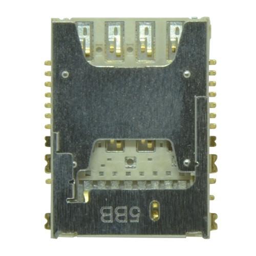 Leitor Sim Card Samsung G530 G531 Gran Prime Sim 1 + SD Card