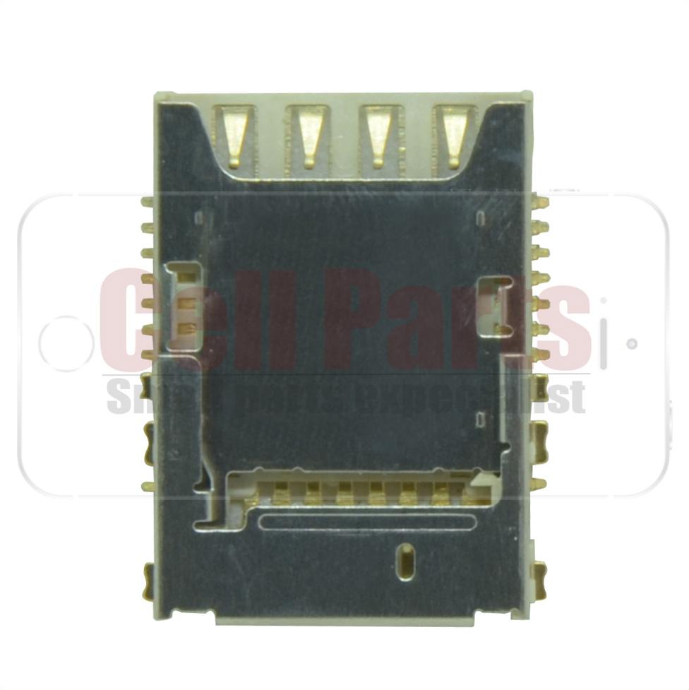 Leitor Conector Sim Card Samsung i9200 Mega 6.3