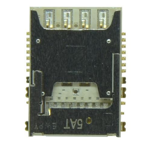 Leitor Sim Card Samsung  J300 J3 + Micro  SD Card