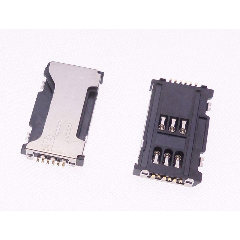 Leitor Sim Card Samsung S7560 S7562 S7582 C6712