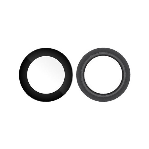 Lente Camera Ipad Pro 12.9 A1670 A1671 A1821 Preto