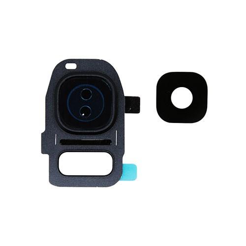 Lente Camera Samsung G930 S7 Preta