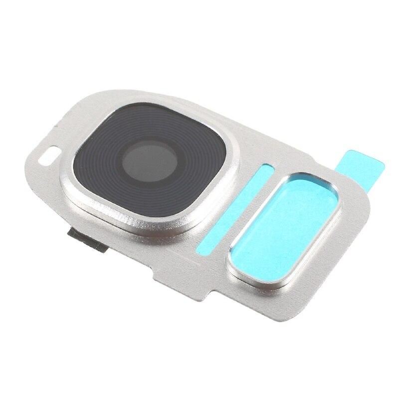 Lente Camera Samsung G935 S7 Edge Prata