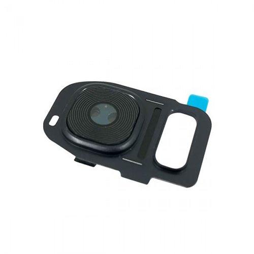 Lente Camera Samsung G935 S7 Edge Preto