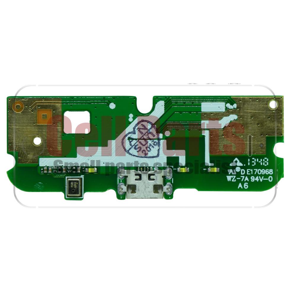 Placa com Conector de Carga Alcatel 6012 Idol Mini + Microfone