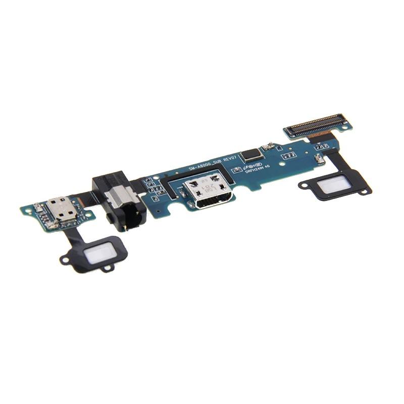 Placa Conector Carga / Fone P2 / Microfone Samsung A800 A8