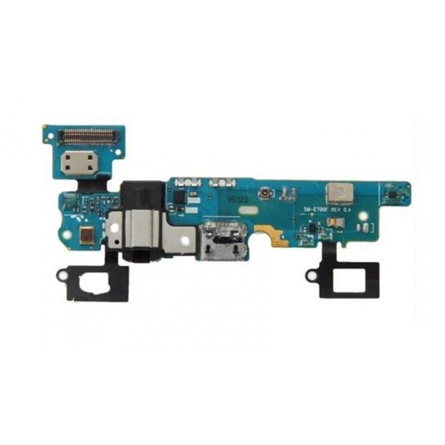 Placa Conector Carga / Fone P2 / Microfone Samsung E700M E7