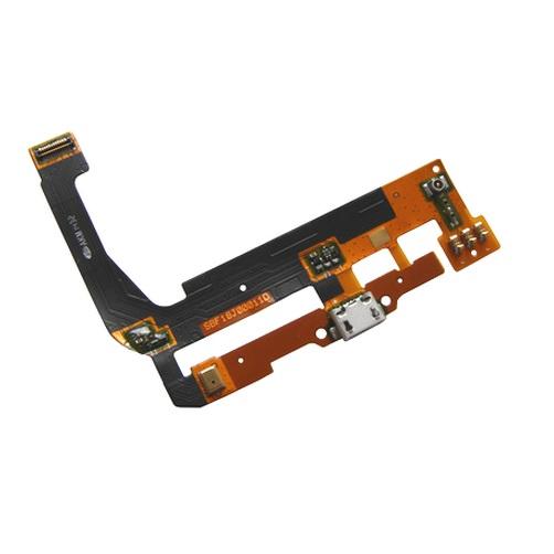 Placa Conector Carga / Microfone Alcatel 7047 C9
