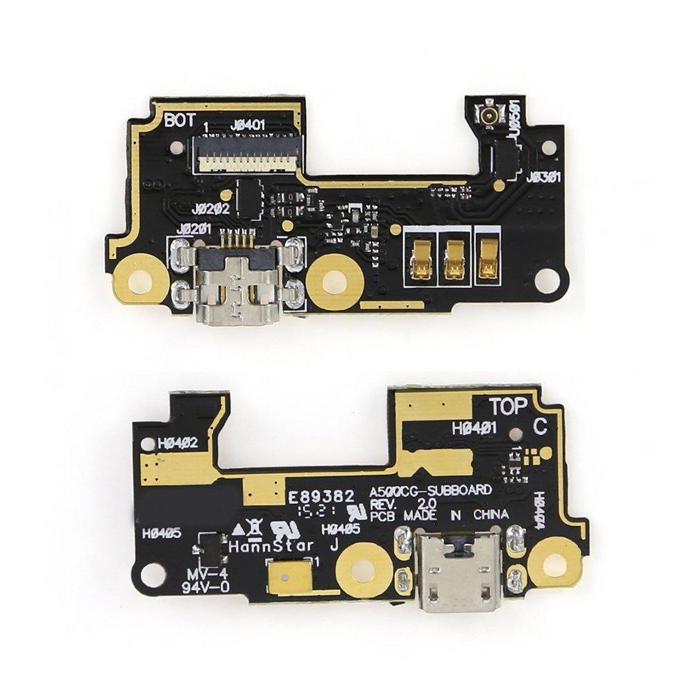 Placa Conector Carga + Microfone Asus Zenfone 5 A500 A501
