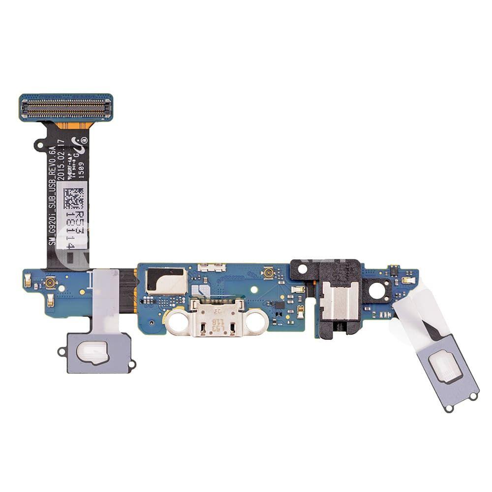 Placa Conector Carga / Microfone / Fone P2 Samsung G920i S6