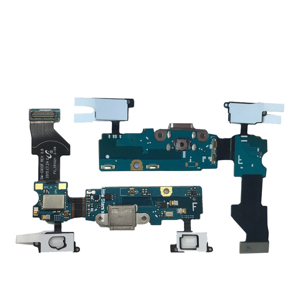 Placa Conector Carga / Microfone G903F S5 New Edition