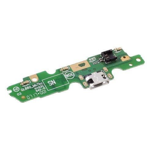Placa Conector Carga / Microfone Motorola Moto G5 XT1672