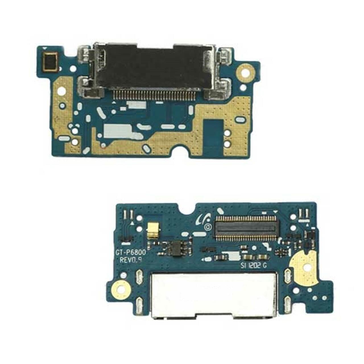 Placa Conector Carga Samsung Tab 7.7 P6800