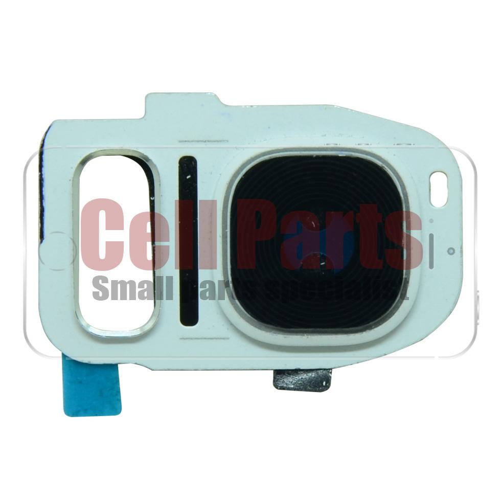 Lente Camera Samsung G935 S7 Edge Branca